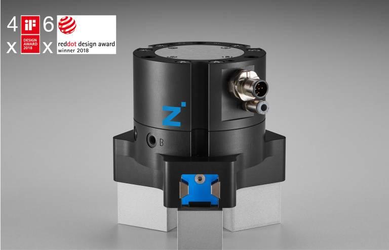 Eines der sechs ausgezeichneten Zimmer-Produkte: der hybride Zentrischgreifer GPD5000IL.