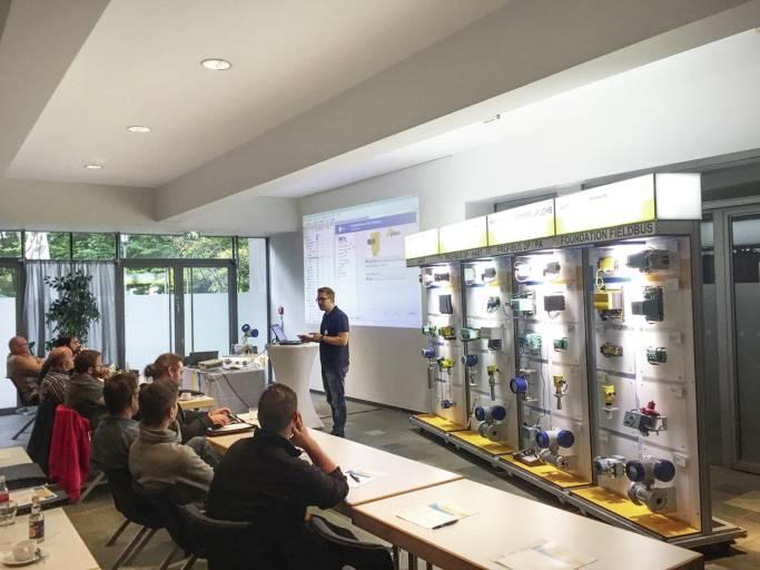 Das PACTware™ Live-Training fand im Oktober 2017 in vier deutschen Städten statt.