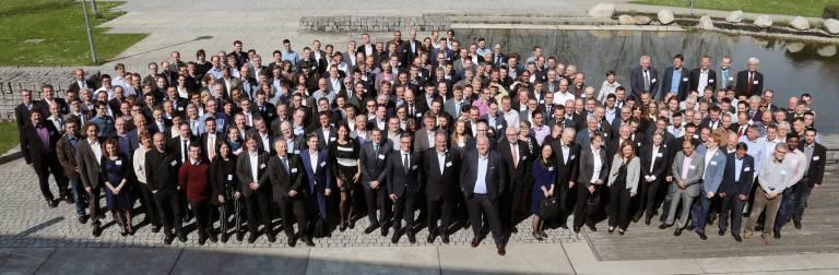 Beim Innovatorentreffen in Denzlingen bei Freiburg werden die Erfinder von Endress+Hauser geehrt.