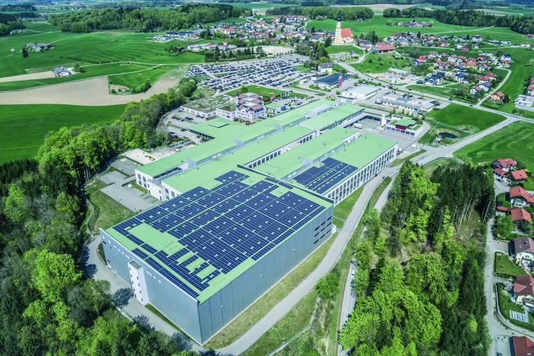 Die Photovoltaikanlage von B&R wird rund 1.000 Kilowattstunden Strom pro Jahr erzeugen.