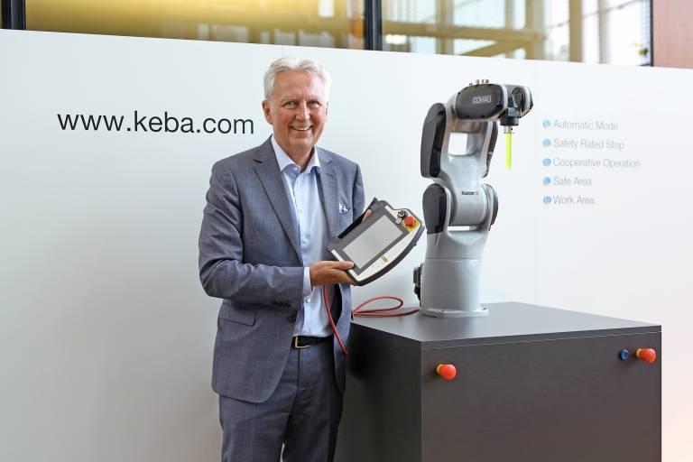 Gerhard Luftensteiner, Vorstandsvorsitzender Keba AG.