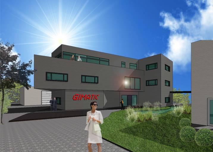 Die gute Konjunktur sorgte dafür, dass Gimatic nur zwei Jahre nach dem ersten Neubau einen weiteren Neubau startet.