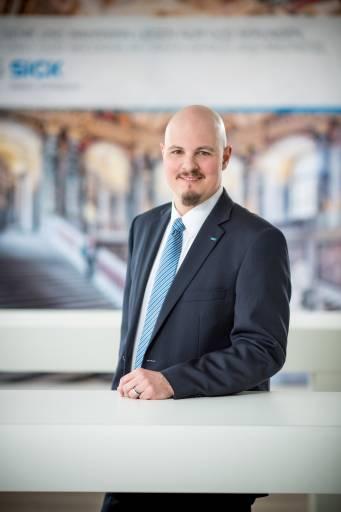 Christoph Ungersböck, Geschäftsführer der Sick GmbH in Wiener Neudorf.