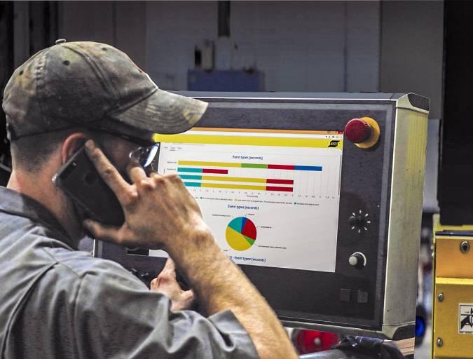 Durch den Einblick in die Produktionsabläufe und Fertigungsprozesse kann mit CutCloud ungenutztes Potenzial für Optimierungen in der Produktion erkannt werden.