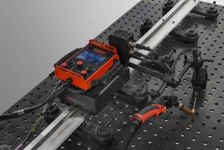 Höchste Effizienz und Flexibilität sowohl im MIG-MAG- als auch im WIG-Bereich mit dem neuen Lorch TRAC RL Performance.