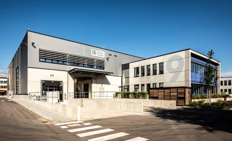 Das neue Tech Center von Prima Power in Neufahrn bei München wurde Ende Juni eröffnet.