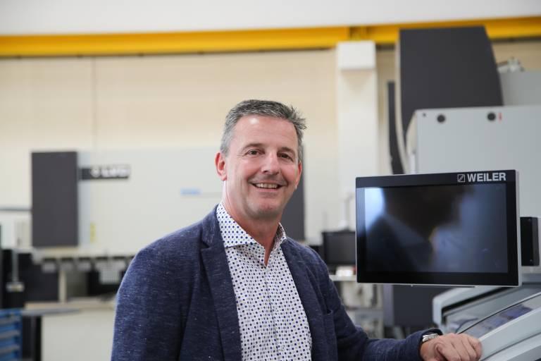 Das BWF-Ausstellungsspektrum im Bereich der Blechverarbeitung wird die neuesten Maschinen-Generationen von LVD, Weber, Davi, Jutec und PBT präsentieren.    Wolfgang Nigl, Leiter der Abteilung Metallbearbeitungsmaschinen bei Schachermayer.