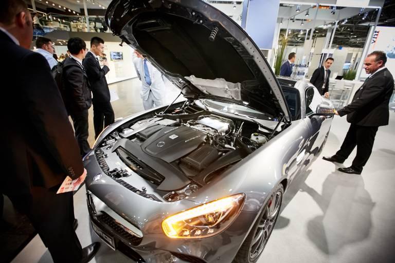 Die Zukunftschancen des Werkstoffs im Automobilbau stehen auch im Fokus der diesjährigen ALUMINIUM in Düsseldorf.