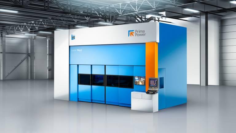 Die Laser Next 2141 ist die aktuellste Weiterentwicklung im 3D-Laseranlagenspektrum von Prima Power.