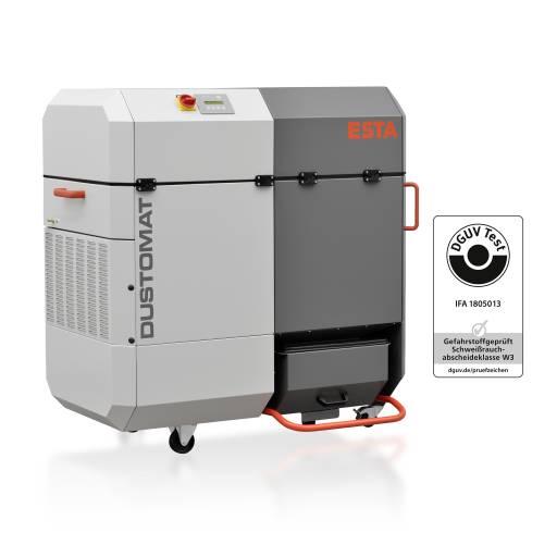 Der neue Esta-Schweißrauchfilter Dustomat 4 ist W3-zertifiziert.