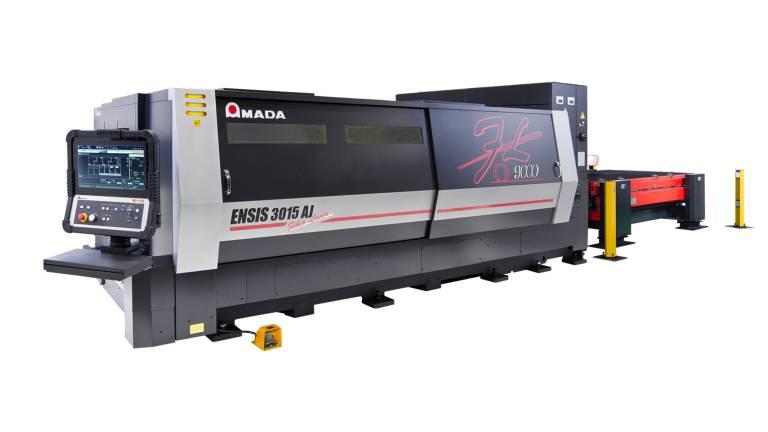 Amada ENSIS-3015AJ 9kW Faserlaser-Schneidmaschine: High-End-Technologie für maximale Produktivität.