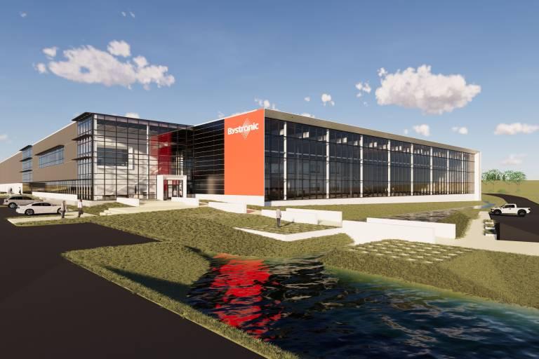 Im neuen Experience Center von Bystronic erleben Kunden aktuelle und zukünftige Technologien und Services zur Blechbearbeitung.