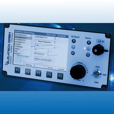 Der von ELMA-Tech entwickelte industrielle Alu-Schweißprozess funktioniert valide mit der für Stahlblechverbindungen eingesetzten Steuerung der ELMA-Tech (Virtuelle Maschine) – das heißt ohne weiteres Zusatzequipment wie etwa umlaufende Prozessbänder oder Kappenreinigungssysteme.