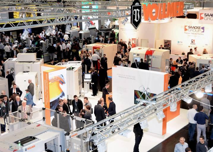 Industrie 4.0 – Automatisierung, Vernetzung, Digitalisierung und Smart Factory – diese Themen sind auch auf der GrindTec 2018 vorherrschend. Schleifbetriebe haben häufig großen Bedarf an Informationen zu Industrie 4.0.