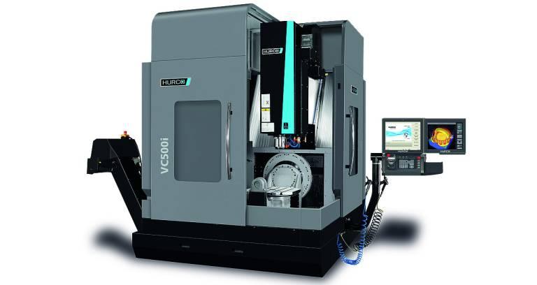 Wie leicht Programmieren mit der neuen Solid-Model-Import-Option ist, zeigte Hurco live auf der METAV auf dem Bearbeitungszentrum VC 500i.