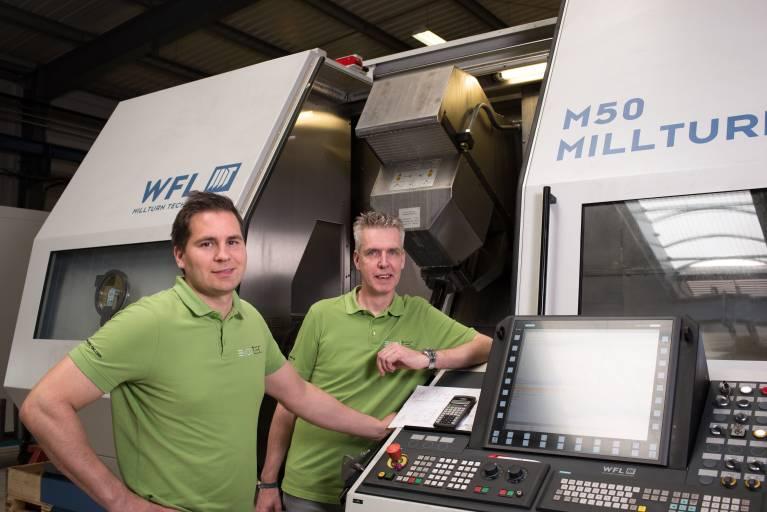 Für Evoltec-Geschäftsführer Mario Malits und Prokurist Gerhard Teichmann steht vor allem eine optimale Kundenbetreuung im Fokus.