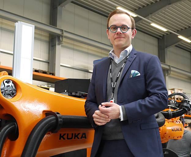 Agil bedeutet, dass es möglich sein muss, Fertigungssysteme bzw. -lösungen je nach Auftrag einfach und rasch anzupassen.  Heikki Hallila, Geschäftsführer der deutschen Fastems-Niederlassung in Issum.