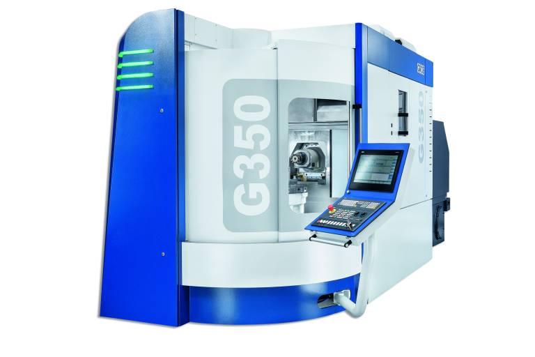 Mit seinem Maschinenkonzept bieten die 5-Achs Universal-Bearbeitungszentren von Grob viele Möglichkeiten bei der Fräsbearbeitung von Werkstücken verschiedenster Materialien.