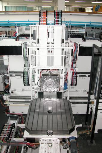 Der Peiseler-Drehtisch ATU 2000 ist eine zentrale Komponente in der MCM-Werkzeugmaschine von Premium Aerotec in Augsburg. (Bild: MCM)