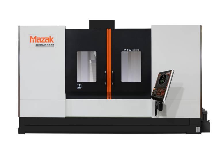 Das vertikale Bearbeitungszentrum VTC-530C ist mit der SmoothG CNC-Steuerung ausgestattet.