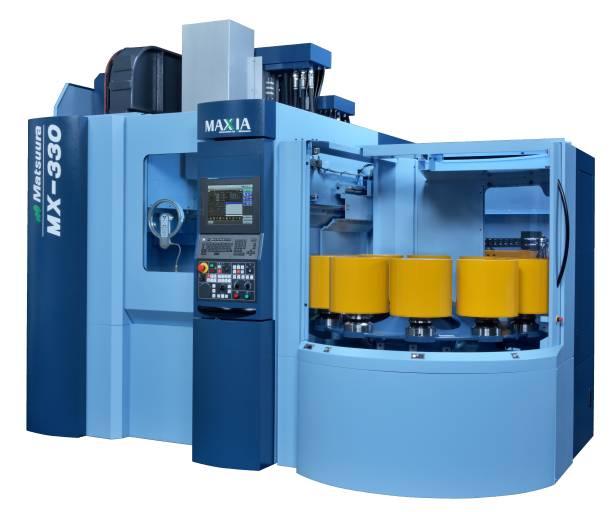 Matsuura präsentiert auf der AMB sein 5-Achsen-Vertikal-Bearbeitungszentrum MX-330 PC-10.
