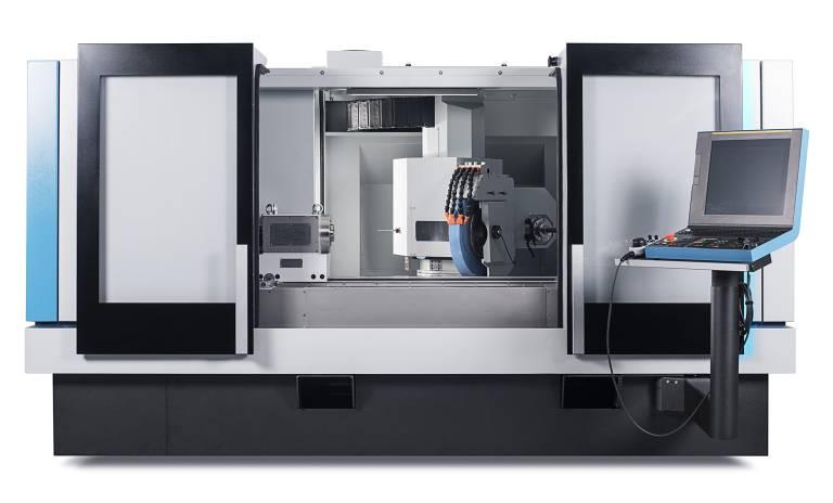 Die Kellenberger 100   ist in den Spitzenweiten 1.000 und 600 mm mit Spitzenhöhe 200 mm verfügbar und für Werkstückgewichte bis 150 kg konzipiert.