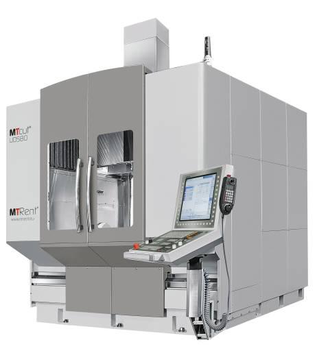 In Stuttgart wird MTRent unter anderem drei MTcut 5-Achs-Universalbearbeitungszentren, darunter eine MTcut UDS80H-5A, präsentieren.