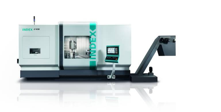 Als Antwort auf den aktuellen Trend zur Komplettbearbeitung in weiten Bereichen der modernen Metallbearbeitung entwickelten die Index Werke das neue Dreh-Fräszentrum G420.