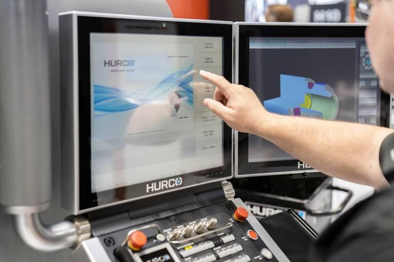 Intuitiv bedienbare Steuerung verbessert Maschinenleistung: Dialogsteuerung Max 5 von Hurco.