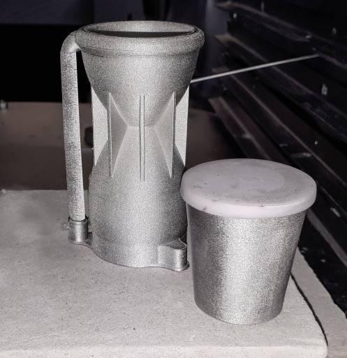 Aktuell werden kleine Raketentriebwerke gedruckt und auf Tauglichkeit in den unwirtlichsten Umgebungen getestet.