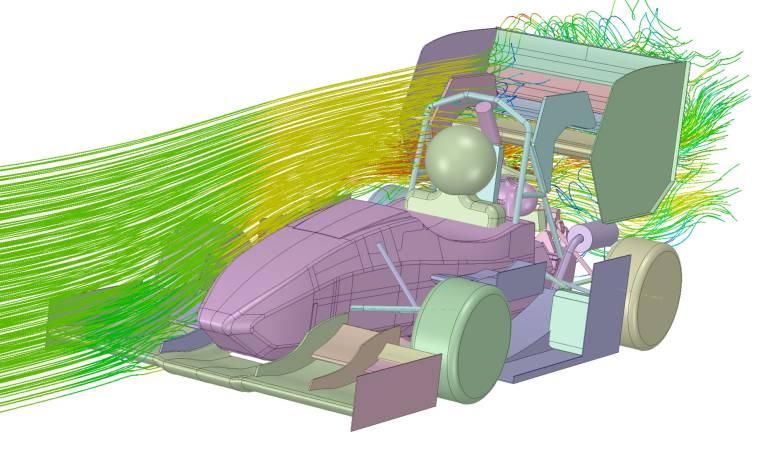 Die Software Ansys Discovery Live versetzt den Anwender in die Lage strömungsmechanische, thermische und strukturmechanische Produkteigenschaften gleichzeitig mit der Entstehung der Geometrie zu bewerten.