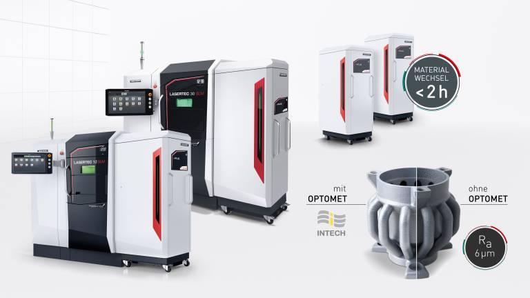 Die Pulverbettmaschinen der LASERTEC SLM Baureihe sind für eine produktive Herstellung komplexer Werkstücke konzipiert.