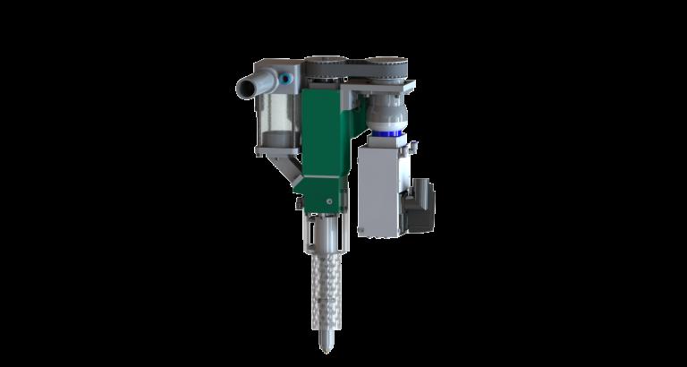 Das Modell 175 Convertible kann zukünftig neben Filamenten auch Granulat, v.a. ABS, PP, ASA als auch PA verarbeiten.