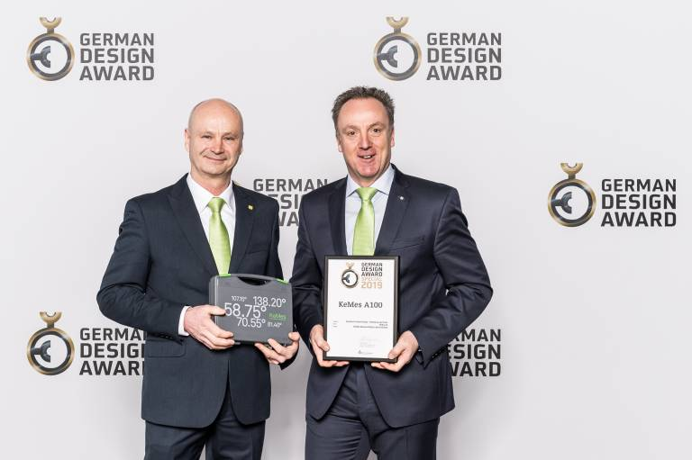 V.l.n.r.: Karl-Heinz Leipzig und Klaus-Dieter Adrian, Keba Vertrieb Deutschland (Bild: Lutz Sternstein)
