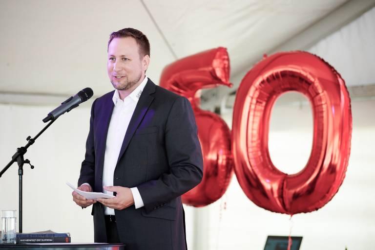 Oliver Beschkowitz, Managing Director bei SEW-Eurodrive Österreich.
