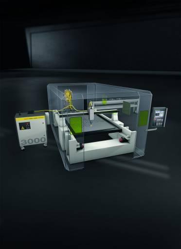 VarioCube ist eine innovative, modulare und effiziente Laserschweißzelle