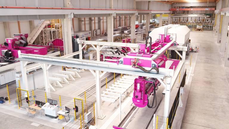 Die neue Plattierstation der AMAG wurde Mitte Februar in Ranshofen in Betrieb benommen.