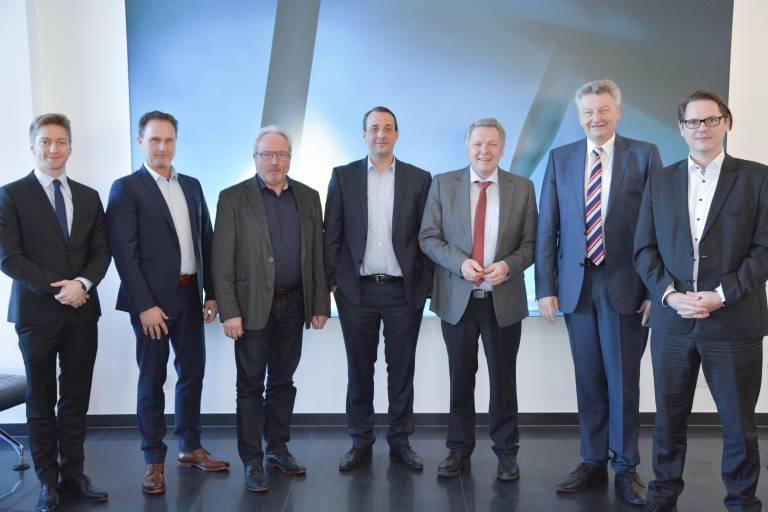 Cloos, die SDFS und Achenbach Buschhütten möchten den Technologie- und Wissenstransfer gemeinsam vorantreiben.