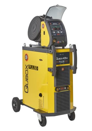 Die neuen Multiprozess-Systeme der Qubox-Serie sind bestens für hochwertige Schweißarbeiten geeignet.