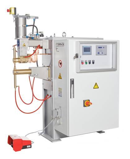 Mit der neuen Punktschweißmaschine PL 180-MF hat Dalex die PL-Maschinenreihe um eine Variante mit Mittelfrequenz-Transformator für flexible Schweißaufgaben im wirtschaftlichen Dauereinsatz erweitert. (Bilder: Dalex)
