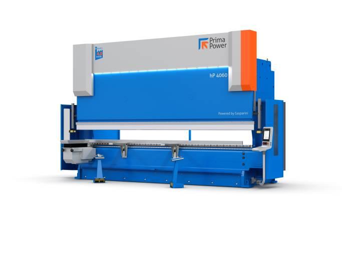 Eine Vereinbarung zwischen Prima Power und Gasparini markiert die Geburtsstunde der hydraulischen Prima Power-Abkantpressen der hP-Serie mit hoher Biegekraft.