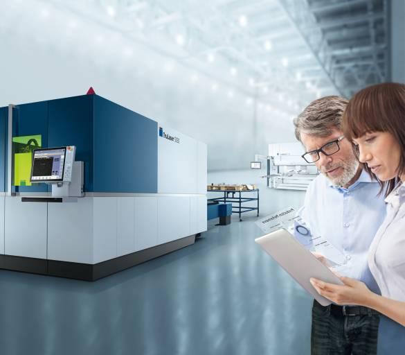Ziel von Trumpf ist, den Kunden einfacher und schneller als bisher Smart Factory-Lösungen anbieten zu können