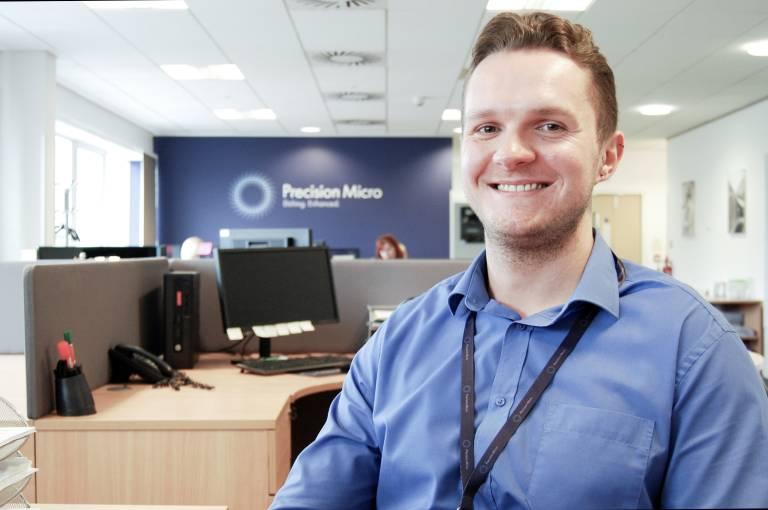 Chris Carter verstärkt das deutschsprachige Vertriebsteam als neuer Key Account Manager. (Bild: Precision Micro)