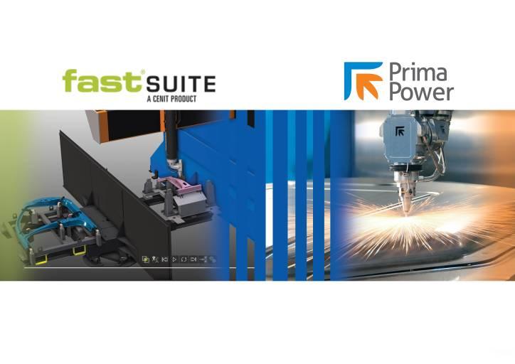 Mit FASTSUITE Prima Power Edition aktualisiert Prima Power sein Angebot an Softwareprodukten zur Offline-Programmierung von 3D-Lasermaschinen.