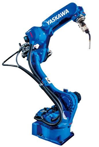 Yaskawa erweitert das Schweißroboter-Portfolio um gleich sechs neue Modelle der AR-Serie, darunter der speziell für die hohen Anforderungen im Bereich Lichtbogenschweißen entwickelte Motoman AR1440. (Bilder: Yaskawa)