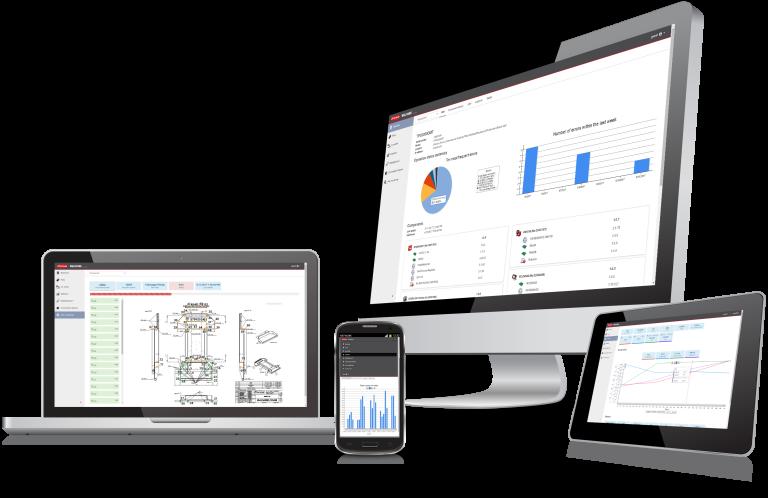Alle WeldCube Varianten sind webbasierte Software-Lösungen. Dadurch können Nutzer sowohl via Computer als auch über mobile Endgeräte auf WeldCube zugreifen. (Bilder: Fronius International)
