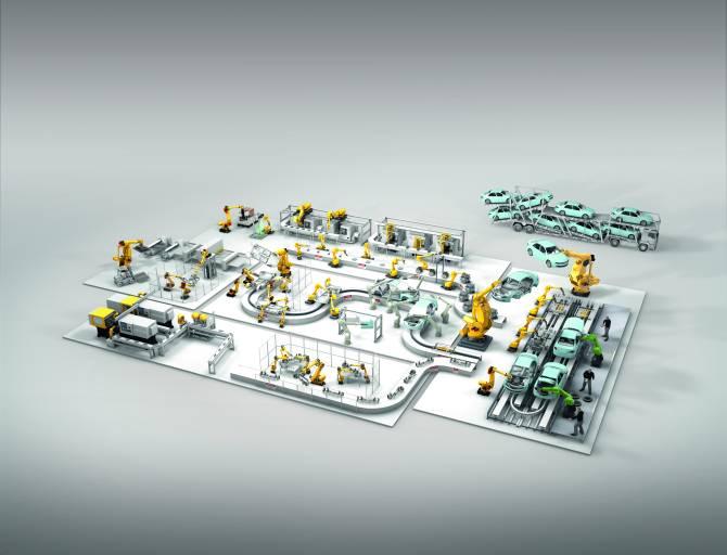 Roboguide: Clevere 3D-Simulation für intelligente Fabriken