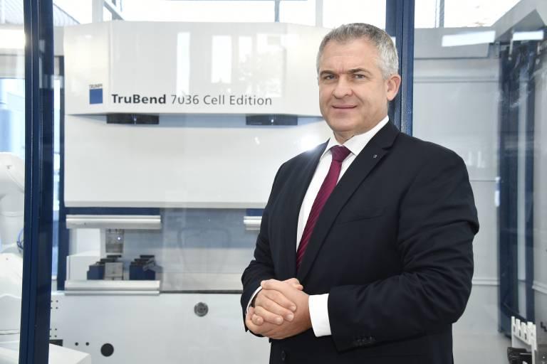 DI Jens Hirschgänger (52), neuer Geschäftsführer von Trumpf Österreich.
