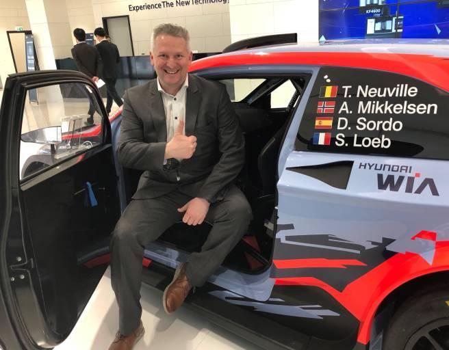 Seit Anfang 2019 hat Alexander Planche die Generalvertretung von Hyundai WIA in Österreich übernommen.