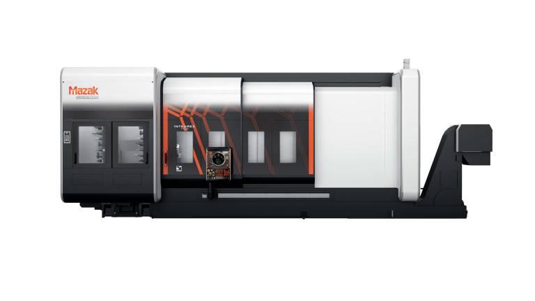 Die INTEGREX i-500 zeichnet sich durch ihren großen Bearbeitungsbereich mit einer Bettlänge von bis zu 3,0 Metern aus, der auch die Bearbeitung ungewöhnlich großer Teile ermöglicht.